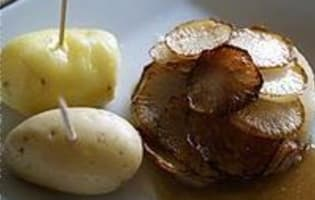 Rouelle de porc braisée  - Etape 16