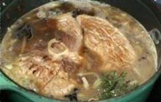 Rouelle de porc braisée - Etape 9