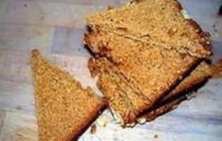 Bécassine rôtie sur pain d'épices - Etape 11