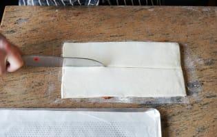 Allumettes aux anchois - Etape 10