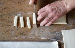Allumettes aux anchois - Etape 12