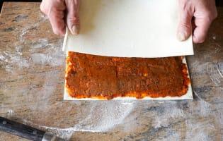 Allumettes aux anchois - Etape 8