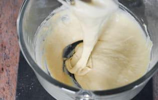 La pâte à crêpes - Etape 6