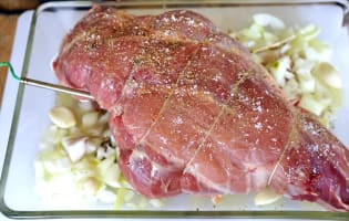 Gigot d'agneau - Etape 6