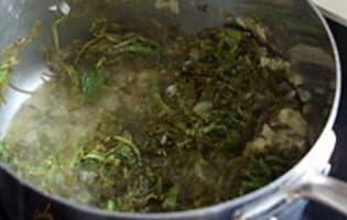 Sauce à l'oseille - Etape 5