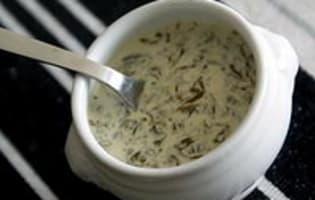Sauce à l'oseille - Etape 9