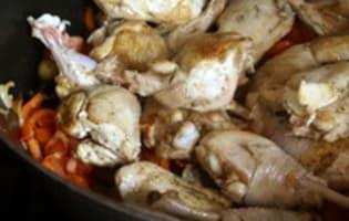 Poulet basquaise - Etape 9
