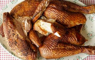 Le poulet fumé - Etape 11