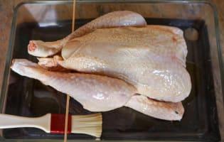 Le poulet fumé - Etape 4