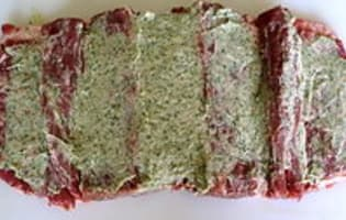 Selle d'agneau farcie - Etape 4