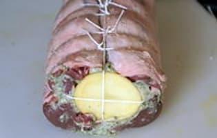 Selle d'agneau farcie - Etape 7