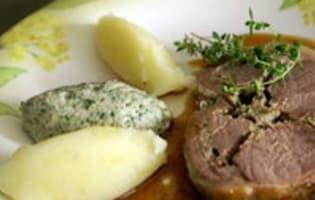 Purée de pommes de terre à l'ail confit - Etape 12