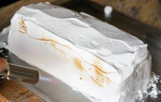 Bûche de noël glacée à la mandarine - Etape 14