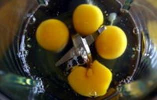 Clafoutis de courgettes - Etape 2