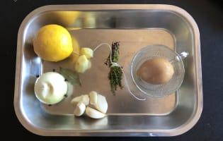 Coquelet au citron - Etape 2