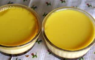 Démoulage des crèmes renversées - Etape 1