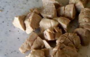 Feuilletés de ris de veau - Etape 1