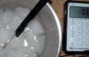 Produire du froid négatif sans appareillage - Etape 1