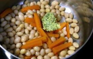 Haricots cocos liés au beurre - Etape 9