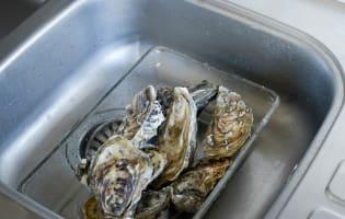 Ouvrir les huîtres facilement - Etape 1