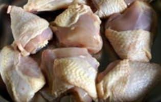Waterzoï de poulet - Etape 2
