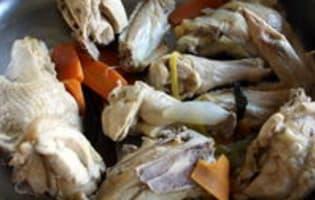 Waterzoï de poulet - Etape 6