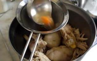 Waterzoï de poulet - Etape 8