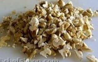 Chutney aux noix et abricots secs - Etape 2