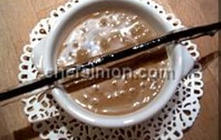 Sauce et espuma carambar - Etape 5