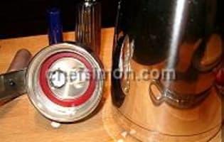 Sauce et espuma carambar  - Etape 6