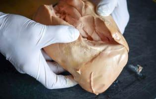 Ballotine de foie gras - Etape 1