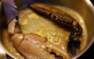 Médaillons de homard sautés au beurre moussant - Etape 9