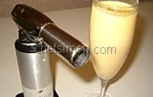 Sabayon sans alcool  - Etape 8