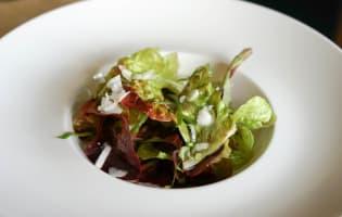 Salade de bar tiède à l'huile de noisette - Etape 9