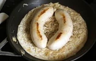 Boudin blanc aux échalotes - Etape 9