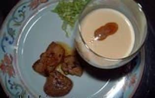 Capuccino de foie gras - Etape 3