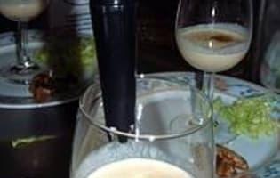 Capuccino de foie gras - Etape 4