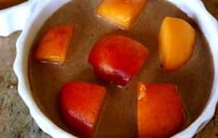 Clafoutis aux abricots et au chocolat - Etape 10