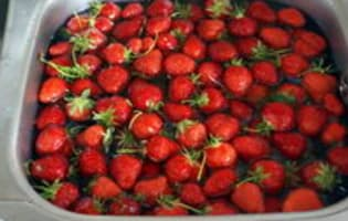 Confiture de fraises - Etape 3