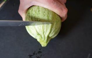Courgettes farcies - Etape 2