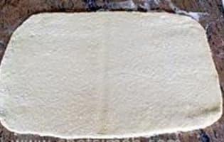 Croissants et pains au chocolat - La détrempe - Etape 8