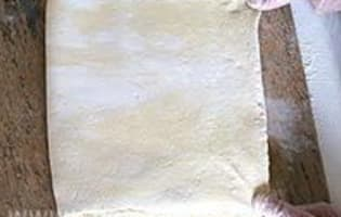 Pâte feuilletée à 6 tours - Etape 17