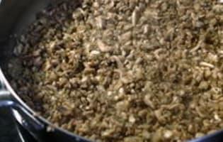 Duxelles de champignons - Etape 8
