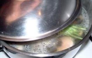 Cassolette d'escargots au beurre d'ail - Etape 1