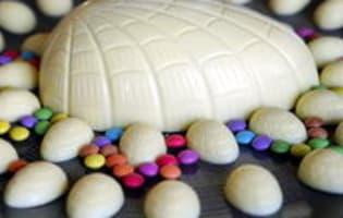 Tablage du chocolat blanc - Etape 6