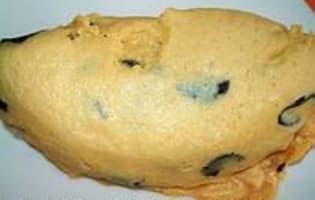 Omelette aux truffes - Etape 5