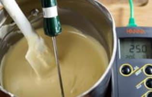 Tablage du chocolat blanc - Etape 4