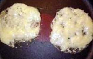 Tuiles au parmesan - Etape 2