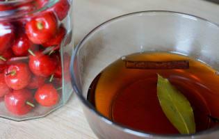Cerises à l'aigre doux - Etape 6