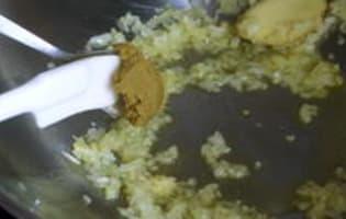 Curry vert de lotte - Etape 6